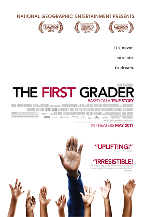 poster for The First Grader