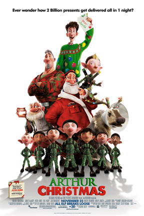 poster for Arthur Christmas 3D