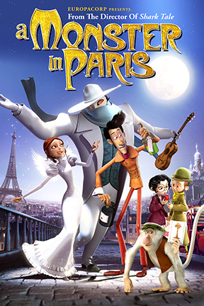 poster for A Monster in Paris 3D