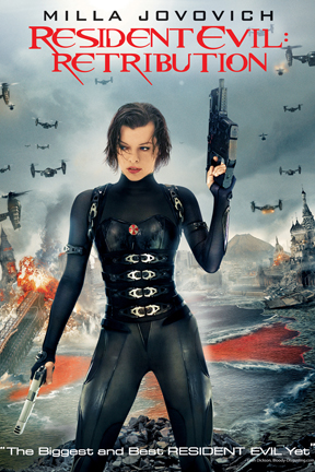 poster for Resident Evil: Retribution 3D