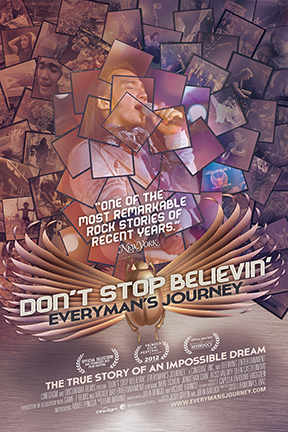 poster for Don't Stop Believin': Everyman's Journey