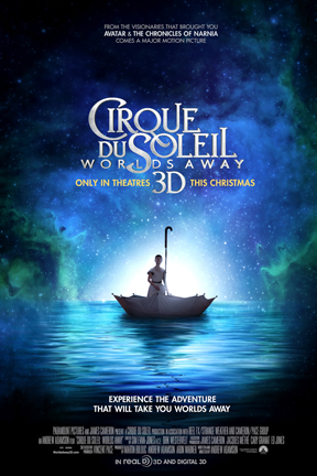 poster for Cirque du Soleil: Worlds Away 3D