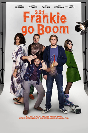 poster for 3, 2, 1... Frankie Go Boom