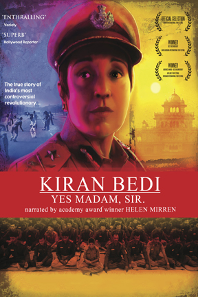 poster for Kiran Bedi: Yes Madam, Sir