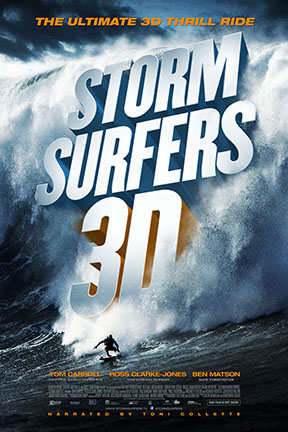 poster for Storm Surfers 3D