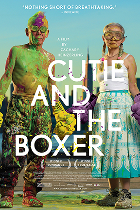 poster for Cutie and the Boxer