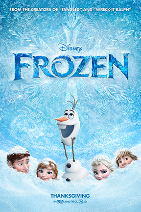 poster for Frozen 3D