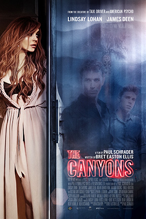 poster for The Canyons