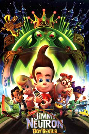 poster for Jimmy Neutron: Boy Genius