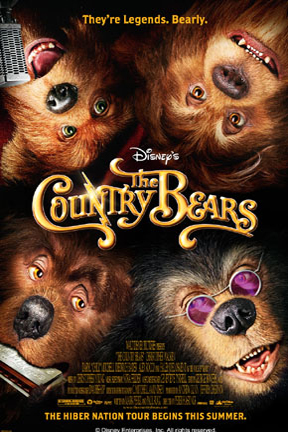 poster for The Country Bears