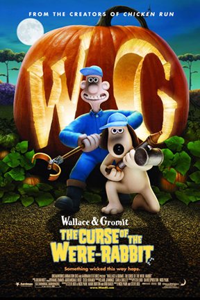poster for Wallace & Gromit: The Curse of the Were-Rabbit