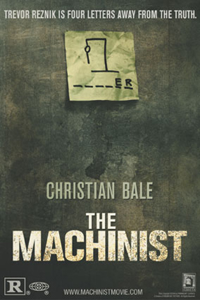 poster for The Machinist