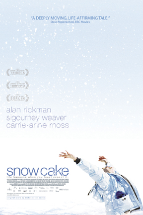 poster for Snow Cake