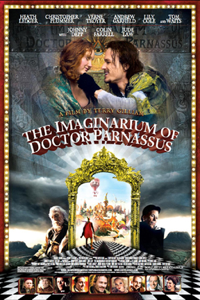 poster for The Imaginarium of Doctor Parnassus