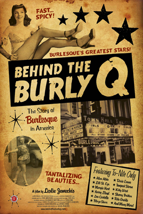 poster for Behind the Burly Q