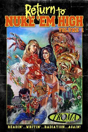 poster for Return to Nuke 'Em High: Volume 1