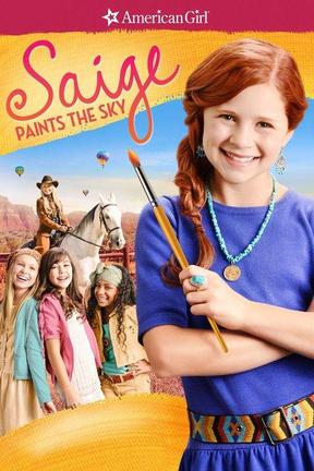 poster for An American Girl: Saige Paints the Sky