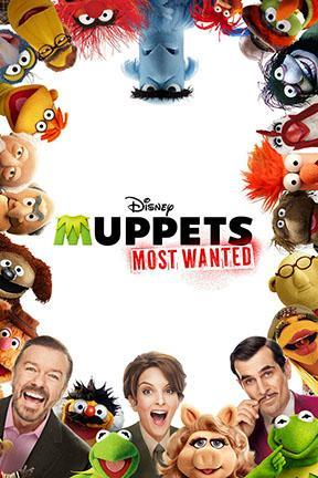poster for Muppets Most Wanted