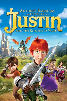 poster for Justin and the Knights of Valor