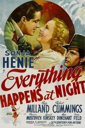 poster for Everything Happens at Night