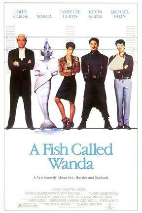 poster for A Fish Called Wanda