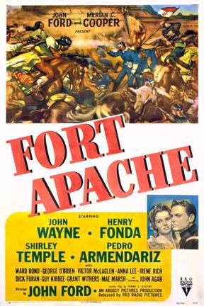 poster for Fort Apache