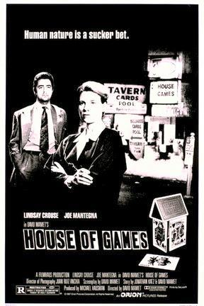 poster for House of Games