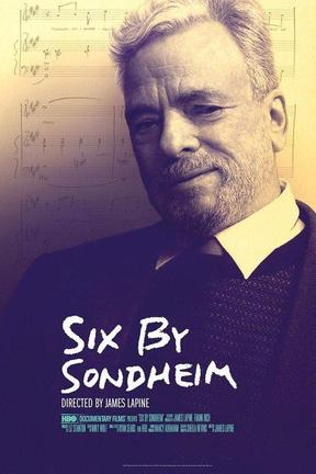 poster for Six by Sondheim