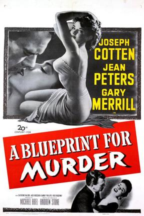 poster for A Blueprint for Murder