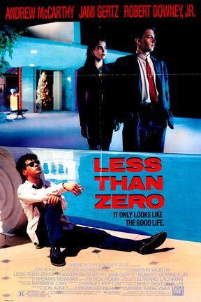 poster for Less Than Zero