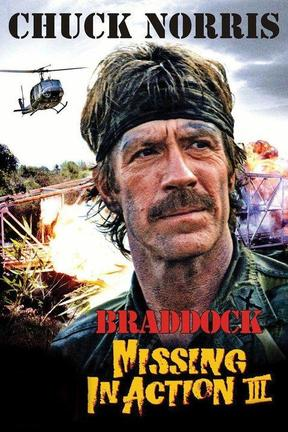poster for Braddock: Missing in Action III