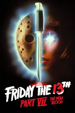 poster for Friday the 13th Part VII -- The New Blood