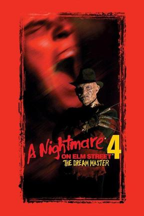 poster for A Nightmare on Elm Street 4: The Dream Master