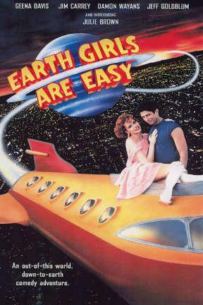 poster for Earth Girls Are Easy