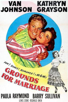 poster for Grounds for Marriage