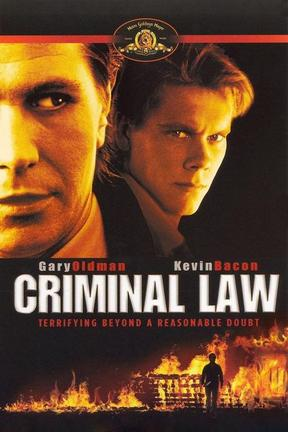 poster for Criminal Law