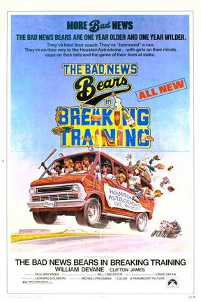 poster for The Bad News Bears in Breaking Training