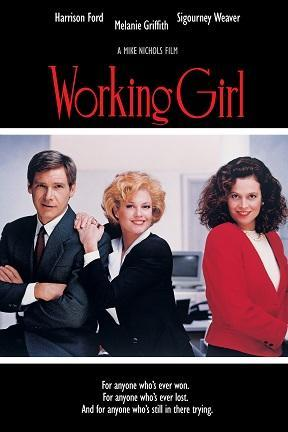 poster for Working Girl