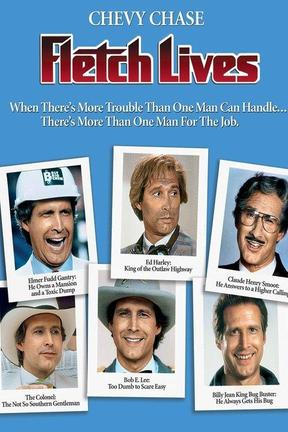 poster for Fletch Lives