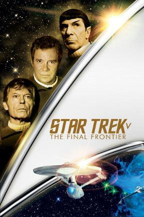 poster for Star Trek V: The Final Frontier