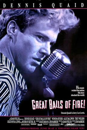 poster for Great Balls of Fire!