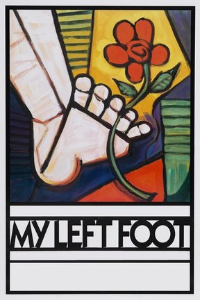 poster for My Left Foot
