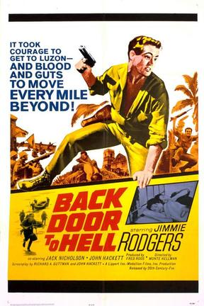 poster for Back Door to Hell