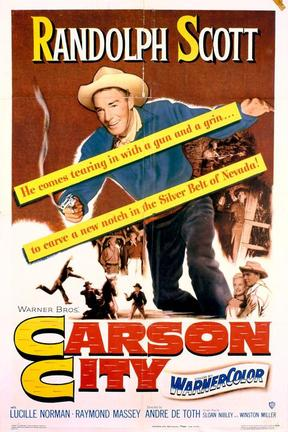 poster for Carson City