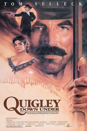 poster for Quigley Down Under