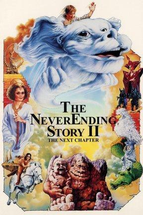 poster for The Neverending Story II: The Next Chapter
