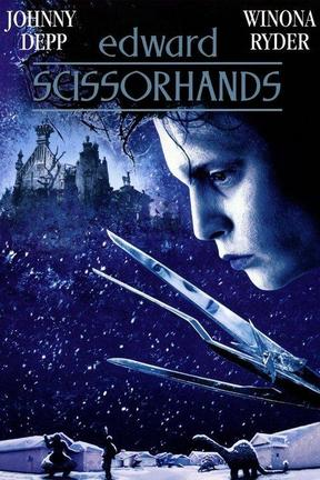 poster for Edward Scissorhands