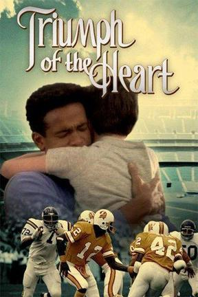 poster for A Triumph of the Heart: The Ricky Bell Story