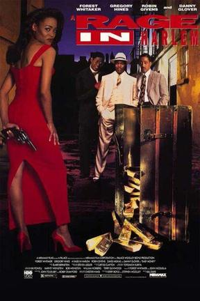 poster for A Rage in Harlem