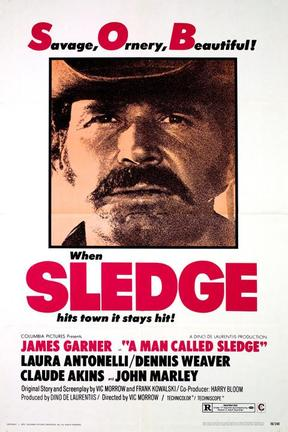 poster for A Man Called Sledge